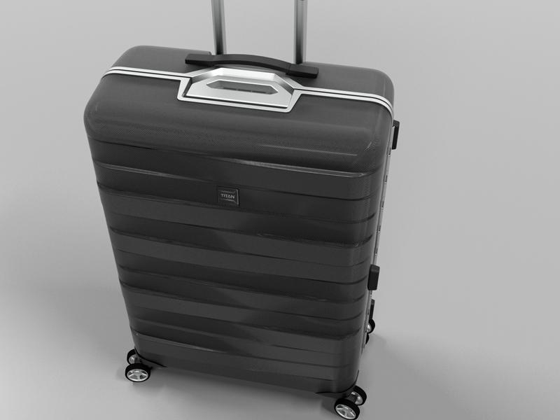 h h produktentwicklung und gestaltung titan koffer. Black Bedroom Furniture Sets. Home Design Ideas